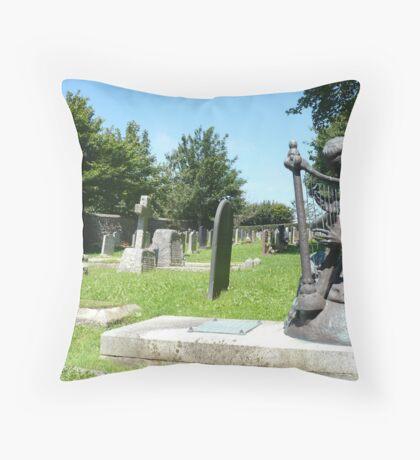 Stratton Church Yard Throw Pillow
