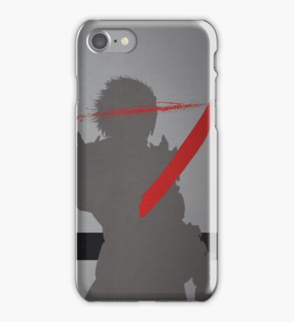 Metal Gear Rising - Revengeance - Raiden iPhone Case/Skin