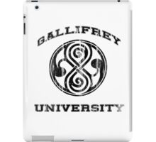 Gallifrey University iPad Case/Skin