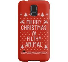 Home Alone Filthy Animal Ugly Sweater Samsung Galaxy Case/Skin