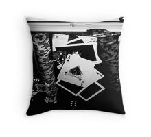 Hold'em Throw Pillow