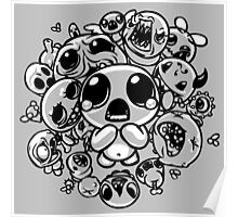 Binding of Isaac Two Tone Poster