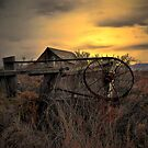 The Old Gate ~ Summer Lake Barn ~ by Charles & Patricia   Harkins ~ Picture Oregon