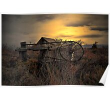The Old Gate ~ Summer Lake Barn ~ Poster