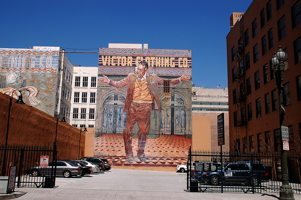 Anthony Quinn mural by socalgirl