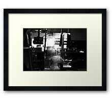 Ghost in the Machine #1 Framed Print