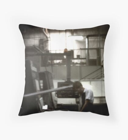 Ghost in the Machine #4 Throw Pillow