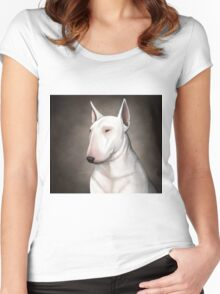 Bull Terrier Women's Fitted Scoop T-Shirt