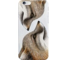 Grey Fox iPhone Case/Skin