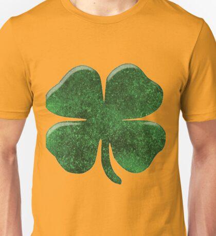 Deluxe Four Leaf Clover T-shirt Unisex T-Shirt