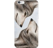Eastern Canadian Wolf iPhone Case/Skin