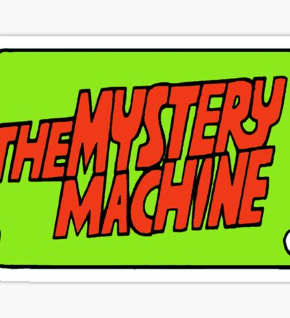 Mystery Machine  Sticker