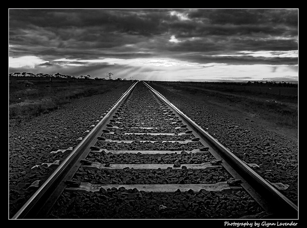 Train to infinity by Wulff