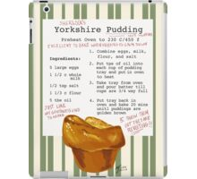 Sherlock's Yorkshire Pudding  iPad Case/Skin
