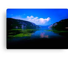 Beautiful Danube Canvas Print