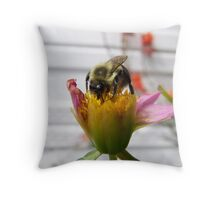 pollenation Throw Pillow