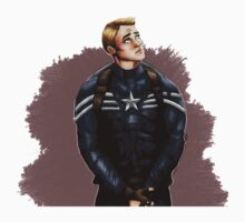 Stealth Suit Steve Rogers by arkenscone
