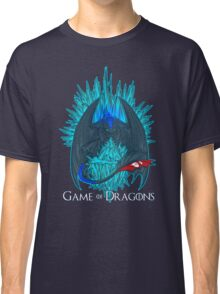 Game of Dragons - HTTYD2/GoT (With Text) Classic T-Shirt