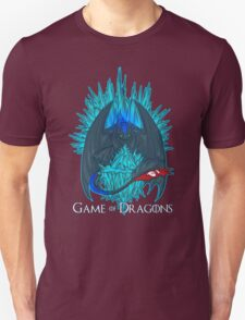 Game of Dragons - HTTYD2/GoT (With Text) T-Shirt