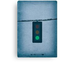 Breaking Bad - Green Light Canvas Print