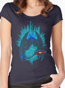 Game of Dragons - HTTYD2/GoT (NO Text) Women's Fitted Scoop T-Shirt