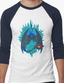 Game of Dragons - HTTYD2/GoT (NO Text) Men's Baseball ¾ T-Shirt