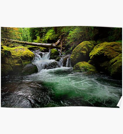 Green Water ~ Wildcat Creek ~ Poster