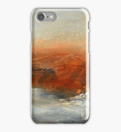 Rust Landscape II iPhone Case/Skin