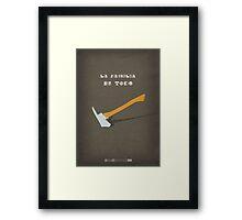 Breaking Bad - One Minute Framed Print