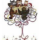 Art-School Owl Assembly by Mariya Olshevska