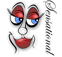 Sensational - Cartoon Eyes Photographic Print