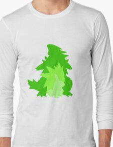 Tyranitar Evolutionary Line Long Sleeve T-Shirt