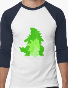 Tyranitar Evolutionary Line Men's Baseball ¾ T-Shirt