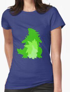 Tyranitar Evolutionary Line Womens Fitted T-Shirt