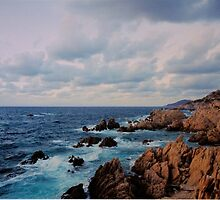 Stormy landscape -  The Straits of Bonifacio . by Brown Sugar. Views 1932. Thank you friends with waaaws !!! Views (695) favorited by (4) thanks ! by © Andrzej Goszcz,M.D. Ph.D