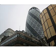 The Gherkin  Photographic Print