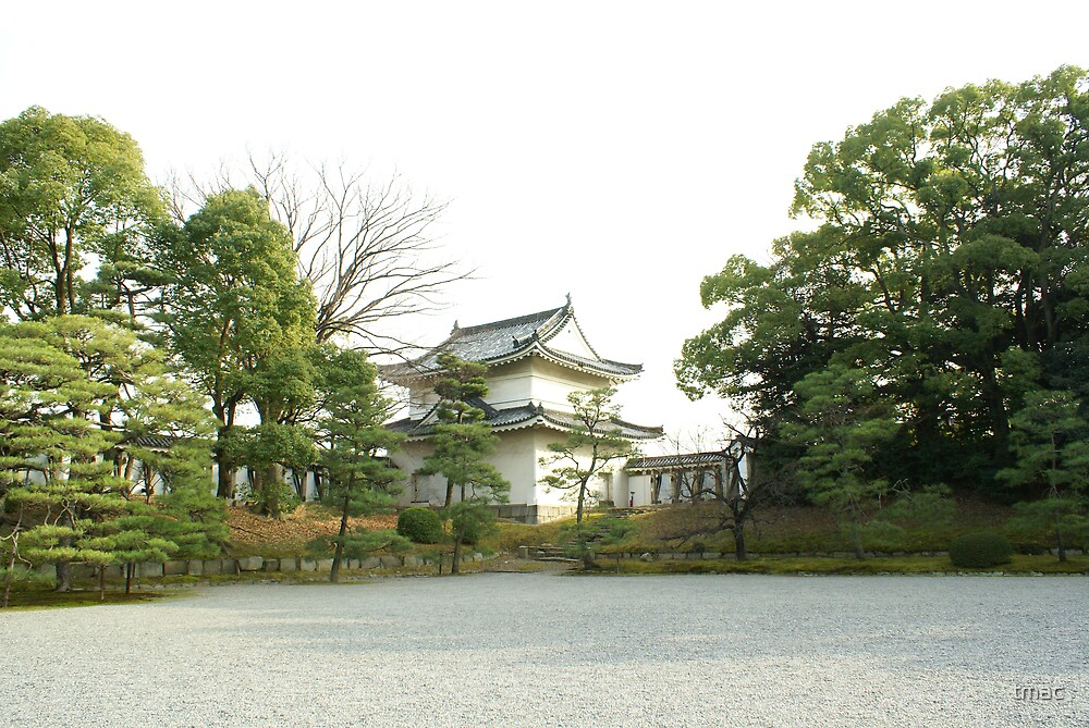 A Japanese White Temple 1 by tmac