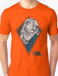 Above & Below: Otter Unisex T-Shirt
