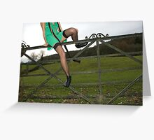 lakeland legs Greeting Card