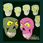 seven skulls by theSilverSkull