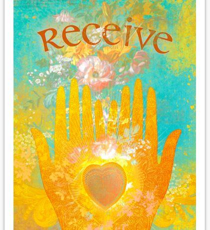 Receive Sticker