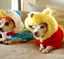 Donald and Winnie by kristinlam