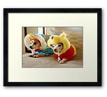 Donald and Winnie Framed Print