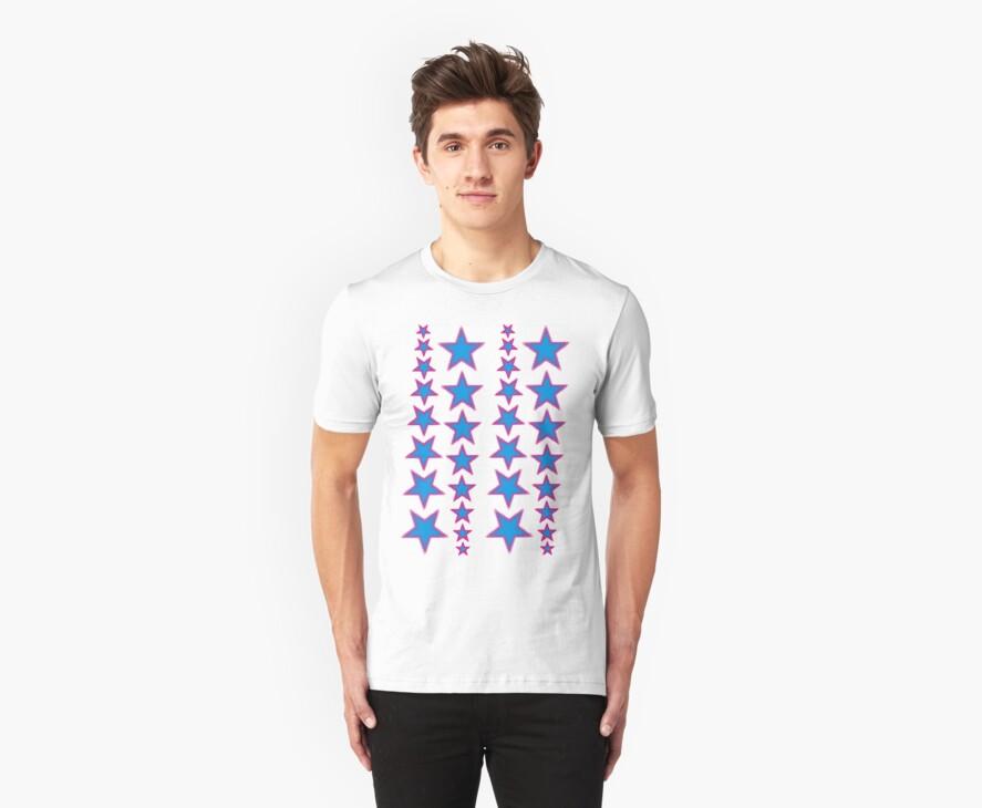 SHOOTING STAAAAAAAARARRRRRSSSSS by Awesome Rave T-Shirts