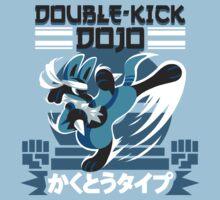 Double-Kick Dojo One Piece - Short Sleeve