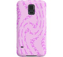 Pink Ribbon for Breast Cancer Twist Abstract Samsung Galaxy Case/Skin