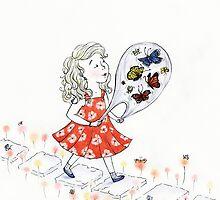 Butterflies, to Go by Mariya Olshevska