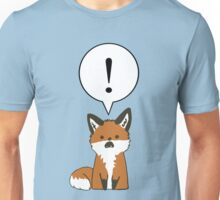 Margo the Shocked Fox Unisex T-Shirt
