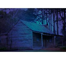DESERTED CABIN Photographic Print