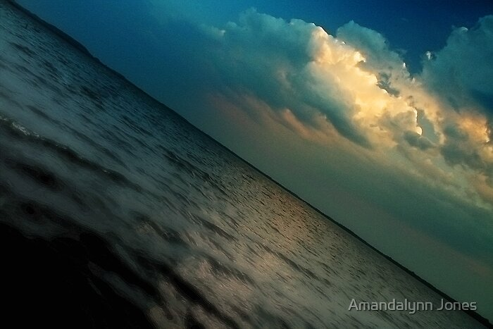 Curvature of the Earth by Amandalynn Jones